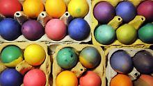 Rund zwei Drittel aller Deutschen färbt zu Ostern Eier.