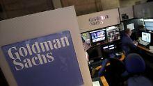 Immer noch besser als erwartet: Goldman Sachs büßt Gewinn ein