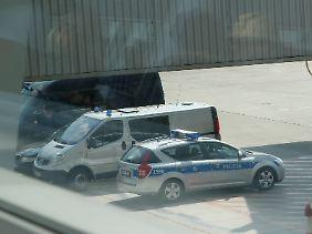 In diesem Transporter soll die polnische Polizei den mutmaßlichen Spion transportiert haben.