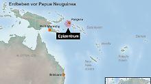 Mitten in der Nacht beginnt die Erde zu beben: Die Behörden geben vorsorglich eine Tsunami-Warnung heraus.