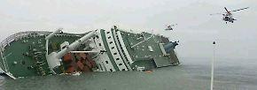 """Noch immer neun Vermisste: Der tragische Untergang der """"Sewol"""""""