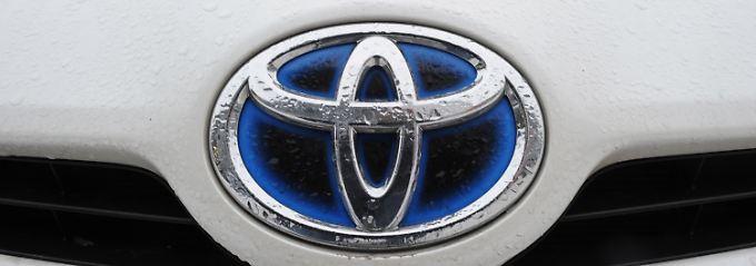 Toyota bleibt die Nummer eins in der Welt.