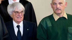 Prozess wegen Millionen-Bestechung: Formel-1-Chef Ecclestone weist Anklage zurück
