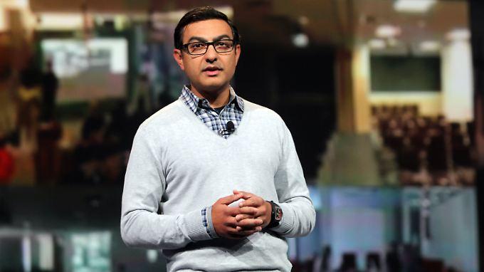 """Acht Jahre lang arbeitete Vivek """"Vic"""" Gundotra für Google."""