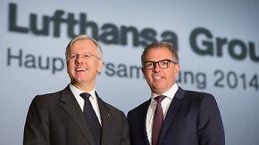 Spohr soll's richten: Scheidender Lufthansa-Chef hinterlässt viele Baustellen