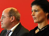 """Rot-Rot-Grün ist """"relativ sinnlos"""": Wagenknecht stellt sich gegen Gysi"""