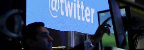 Enttäuschendes Nutzerwachstum: Twitter-Kurs bricht ein