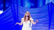 """Valentina Monetta ist mit dem Siegel-Song """"Maybe"""" am Samstag dabei."""