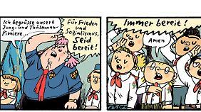 """""""Kinderland"""" von Mawil (erschienen bei Reprodukt) wurde als bester deutschsprachiger Comic ausgezeichnet."""