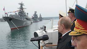 Putin auf der Krim.