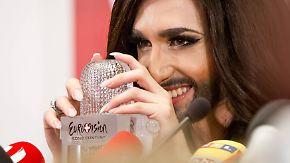 Sieg beim ESC: Conchita Wurst braucht noch eine Woche
