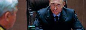 Putin setzt offenbar vor den Wahlen auf Deeskalation.