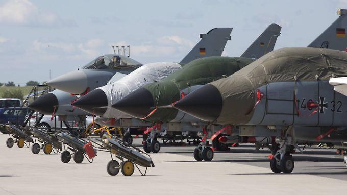 Tornados der Bundeswehr. Die US-Atomwaffen könnten auch mit den deutschen Kampfjets abgeworfen werden.
