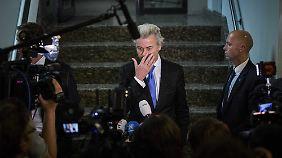 Mit dem niederländischen Rechtspopulisten Geert Wilders will Lucke nicht zusammenarbeiten.