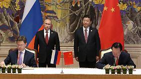 Nach zehnjährigem Ringen: Russland und China schließen Gasvertrag