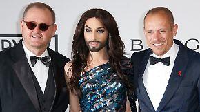 Promi-News des Tages: Conchita Wurst begeistert Cannes