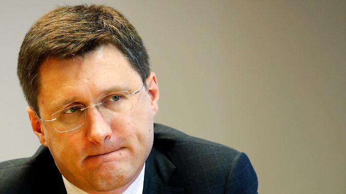 Energieminister Alexander Nowak sieht neue Gespräche als Beitrag zur Gesundung der ukrainischen Wirtschaft.