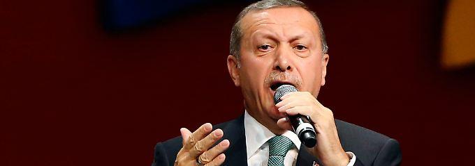 Polarisiert nicht nur bei seinem Besuch in Köln: der türkische Ministerpräsident Erdogan.
