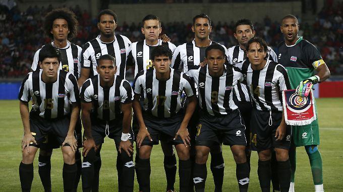 England, Italien, Uruguay - die Gegner von Costa Rica haben es in sich.