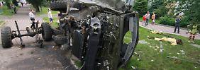 Regierungstruppen kämpfen hart um die Rückeroberung von Donezk.