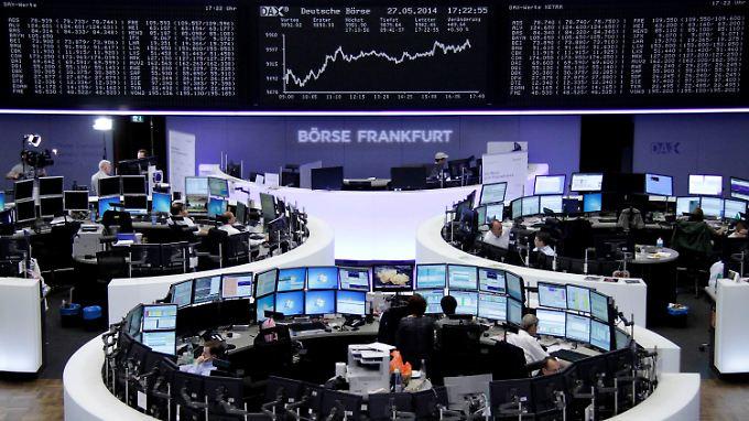 Börsianer voller Vorfreude: Dax peilt magische Marke an
