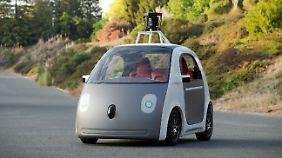 Autonomes Fahren im Test: Roboterautos entern Kaliforniens Straßen