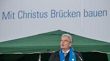 Emanzipation der Katholiken: Gauck ermuntert zum Einmischen
