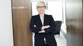 Kurzes Intermezzo: Eva-Lotta Sjöstedt.