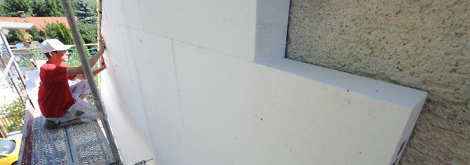 Wenn möglich, sollte die Sanierung von außen nach innen geschehen.