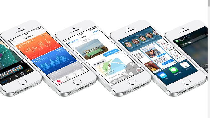 iOS 8 bringt viele praktische neue Funktionen aufs iPhone.
