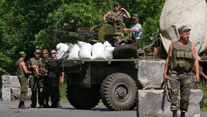 Der ukrainische Grenzschutz schloss mehrere Übergänge zu Russland.