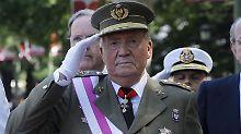 Nach seiner Abdankung verlor Spaniens Ex-König Juan Carlos seine Immunität.