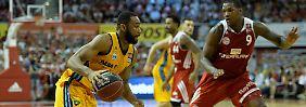Finale der Basketball-Bundesliga: Bayern siegt, Alba hofft noch