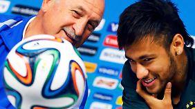 Brasiliens große WM-Hoffnung: Alle Augen ruhen auf Neymar
