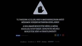 15 Minuten Massenblackout: Ungarische Medien protestieren gegen Steuern
