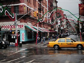 Viertel Little Italy im New Yorker Stadtteil Manhattan.