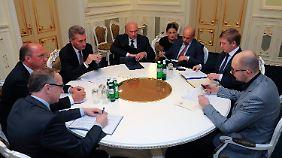 Runder Tisch, keine Einigung: Die Verhandlungen in Kiew sind gescheitert.