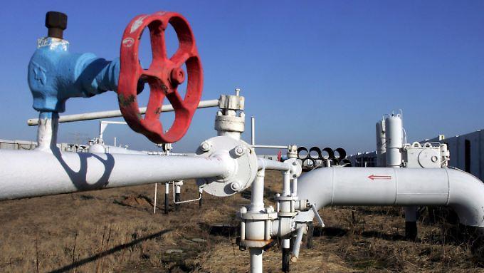 Wegen offener Rechnungen hatte Russland der Ukraine im Juni den Gashahn zugedreht.