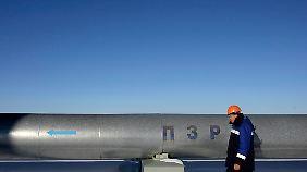 Ein großer Teil russischer Gaslieferungen an die EU fließt durch die Ukraine.