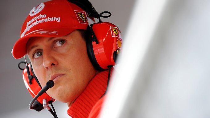 Michael Schumacher lag fast ein halbes Jahr im Koma (Archivbild).