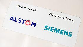 Siemens und Mitsubishi bieten gemeinsam für den französischen Alstom-Konzern.