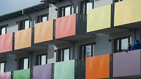 Ein Wohnheim in Greifswald. Kleine Wohnungen sind derzeit heiß begehrt.