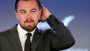 Sparen bei der Körperhygiene: Leonardo DiCaprio rettet die Meere