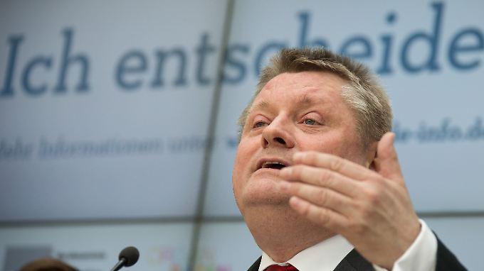 Erhält Widerspruch von den Kassen: Gesundheitsminister Hermann Gröhe.