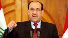 Nuri al Maliki wird wohl nicht mehr lange irakischer Regierungschef sein.