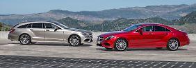 Mercedes Edel-Coupé, der CLS, hat neben einem frischen Äußeren auch neue Innovationen an Bord, die noch nicht mal die S-Klasse hat