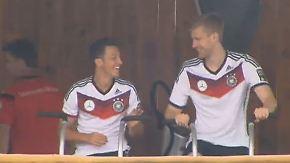 """Gute Stimmung im DFB-Camp: """"Wir haben alles in der eigenen Hand"""""""