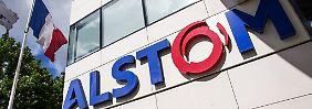 Der französische Staat steigt bei Alstom ein.