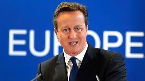Cameron muss überzeugen: EU-Austritt Großbritanniens träfe den Handel
