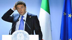 EU-Stabilitätspakt in Gefahr?: Renzi will Wachstum statt Sparzwang
